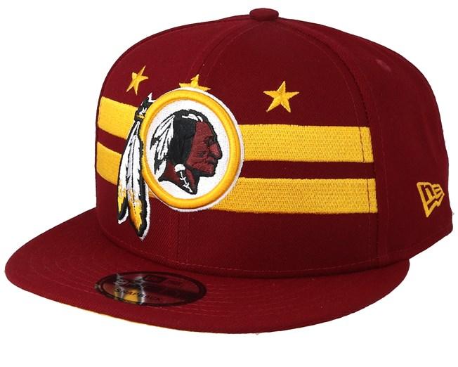 bf737ab25919 Washington Redskins 9Fifty NFL Draft 2019 Red Snapback - New Era ...