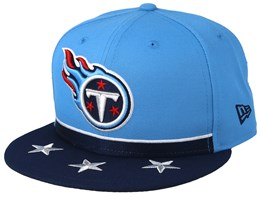 Tennessee Titans 9Fifty NFL Draft 2019 Light Blue/Navy Snapback - New Era
