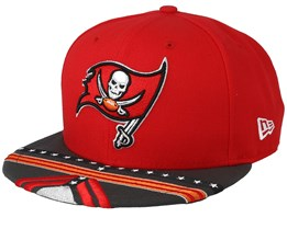 Tampa Bay Buccaneers 9Fifty NFL Draft 2019 Red/Grey Snapback - New Era