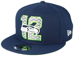 Seattle Seahawks 9Fifty NFL Draft 2019 Navy Snapback - New Era