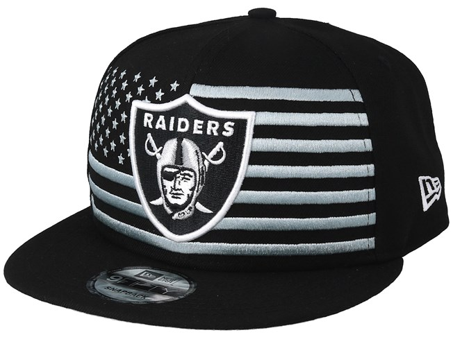Oakland Raiders 9Fifty NFL Draft 2019 Black Snapback - New Era