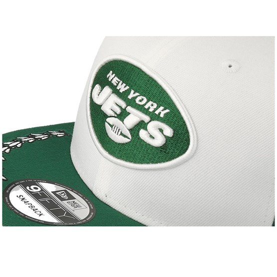 7b6861d5 New York Jets 9Fifty NFL Draft 2019 White/Green/Black Snapback - New Era