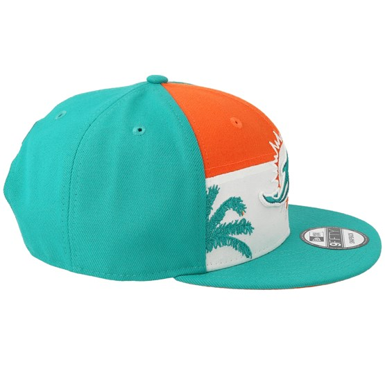 sports shoes 6a6f1 9ece2 Miami Dolphins 9Fifty NFL Draft 2019 Orange White Teal Snapback - New Era  caps - Hatstoreaustralia.com
