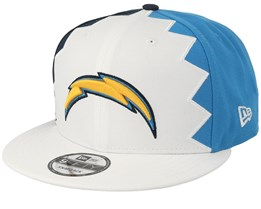 Los Angeles Chargers 9Fifty NFL Draft 2019 White/Light Blue/Navy Snapback - New Era