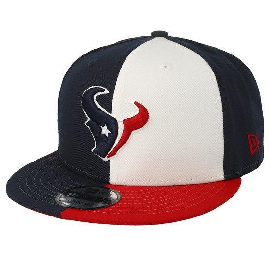 Keps Houston Texans 9Fifty NFL Draft 2019 White/Red/Navy Snapback - New Era - Blå Snapback