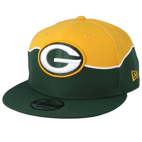 Keps Green Bay Packers 9Fifty NFL Draft 2019 Green/Yellow Snapback - New Era - Grön Snapback