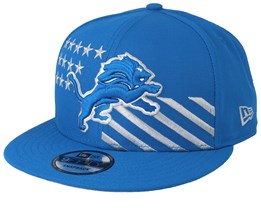 Detroit Lions 9Fifty NFL Draft 2019 Blue Snapback - New Era