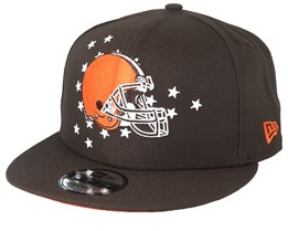 first rate 6cc62 21735 Cleveland Browns 9Fifty NFL Draft 2019 Brown Orange Snapback - New Era