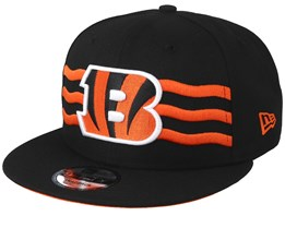 07d62c275a3 Cincinnati Bengals 9Fifty NFL Draft 2019 Black Snapback - New Era