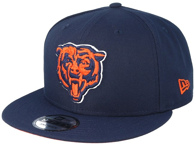 hot sales 94f98 abbd0 Chicago Bears 9Fifty NFL Draft 2019 Navy Snapback - New Era caps ...