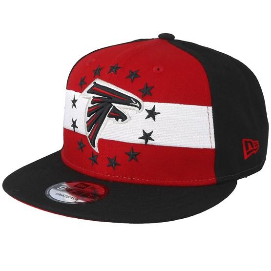 Keps Atlanta Falcons 9Fifty NFL Draft 2019 Red/Black Snapback - New Era - Svart Snapback