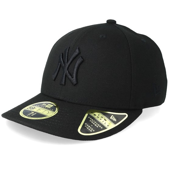 3ef392752ea New York Yankees Low Profile 59Fifty Black Black Fitted - New Era caps -  Hatstoreaustralia.com