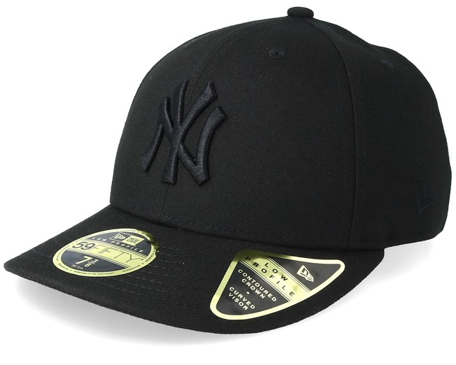 5996d097165 New York Yankees Low Profile 59Fifty Black Black Fitted - New Era caps -  Hatstoreaustralia.com