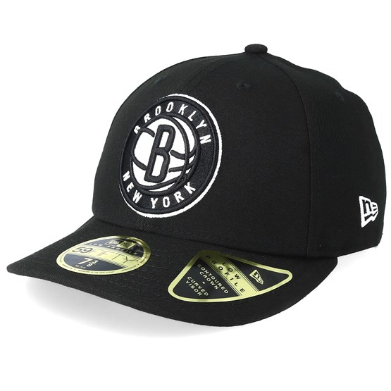 Keps Brooklyn Nets Low Profile 59Fifty Black Fitted - New Era - Svart Fitted