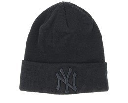 Kids New York Yankees Knit Black/Black Cuff - New Era