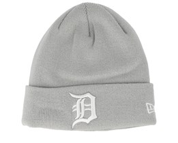 Detroit Tigers Knit Grey Cuff - New Era