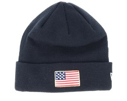 Flag Pack Knit Navy Cuff - New Era