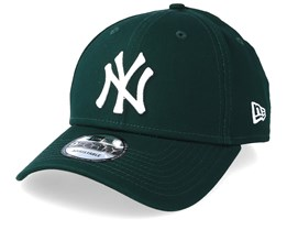 New York Yankees League Essential 9Forty Dark Green/White Adjustable - New Era