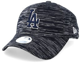 Los Angeles Dodgers Women's Engineered Fit 9Forty Grey/Black Adjustable - New Era