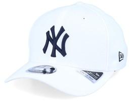 New York Yankees 76ers Base Stretch 9Fifty White/Black Adjustable - New Era