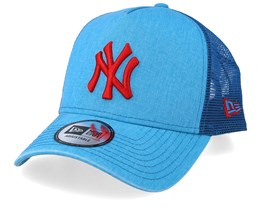 New York Yankees Washed Blue/Red Trucker - New Era