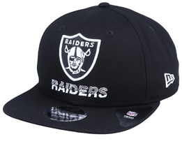Oakland Raiders NFL Tech Team 9Fifty Black Snapback - New Era