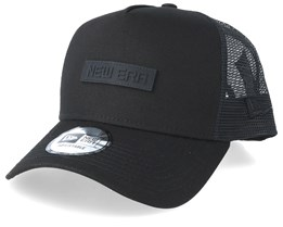 Tech Trucker Black/Black/Black Trucker - New Era