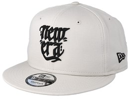 Script Pack 9Fifty Stone Beige/Black Snapback - New Era