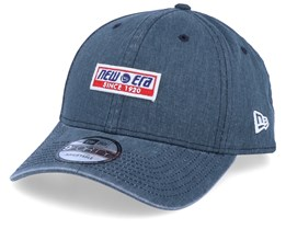 Retro Block Washed Navy 9Forty Adjustable - New Era