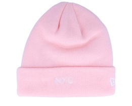 NYC Knit Pink Cuff - New Era