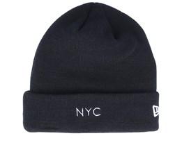 NYC Knit Black Cuff - New Era