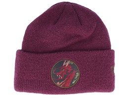 Element Knit Maroon Cuff - New Era