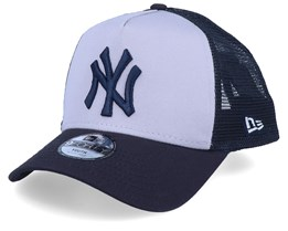 Kids New York Yankees Satin Grey/Navy Trucker - New Era