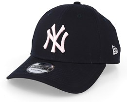 NY Yankees League Essential 9Forty Navy/Light Pink Adjustable - New Era