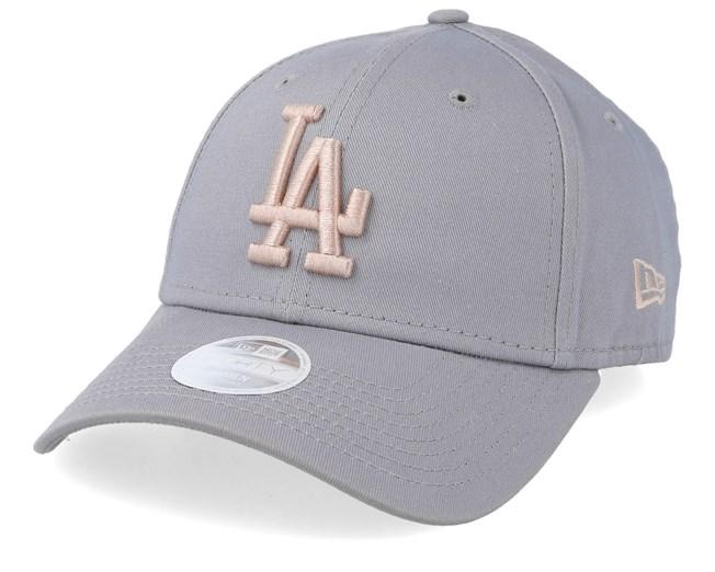 New Era 9Forty Strapback Cap Los Angeles Dodgers schwarz
