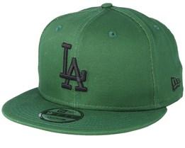 Los Angeles Dodgers League Essential 9Fifty Green/Black Snapback - New Era