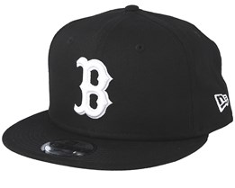 Boston Red Sox League Essential 9Fifty Black/White Snapback - New Era