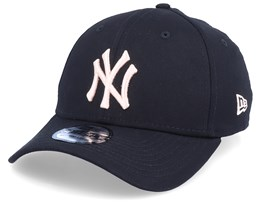 New York Yankees League Essential Black/Pink Flexfit - New Era