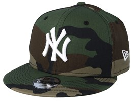 Kids New York Yankees 9Fifty Green Camo Snapback - New Era