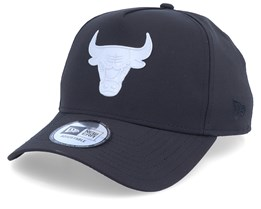 Chicago Bulls Irridenscent NBA A-Frame Black/Grey Adjustable - New Era