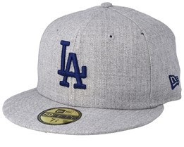 Los Angeles Dodgers 59Fifty Heather Gray/Blue Fitted - New Era