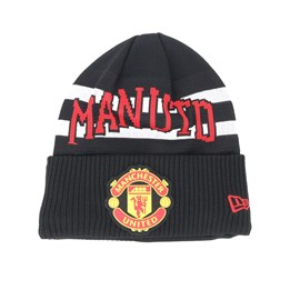 Manchester United Fall 19 Bobble Cuff White Red Pom New