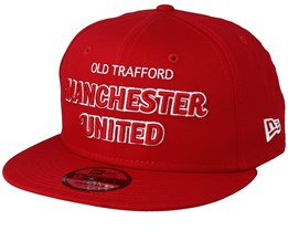 Manchester United Fall 19 Script 9Fifty Red Snapback - New Era