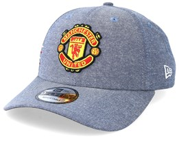 Manchester United Fall 19 Chambray 9Forty Blue Adjustable - New Era