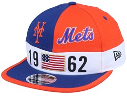 New York Mets Colour Block Lg 9fifty Blue/Orange Snapback - New Era