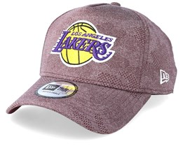 LA Lakers Engineered Plus Maroon Adjustable - New Era