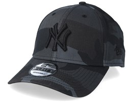 New York Yankees Camo Essential 9Forty Black Camo/Black Adjustable - New Era