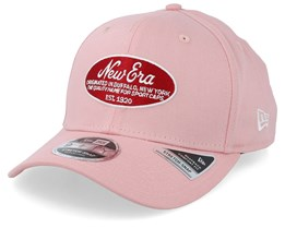 9FIfty Stretch Oval Logo Pink/Red Adjustable - New Era