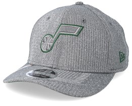 Utah Jazz Training Series 9Fifty Stretch-Snap Dark Grey/Green Snapback - New Era