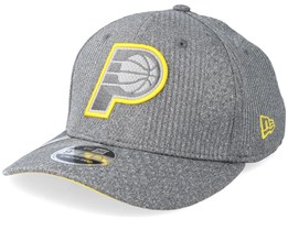 Indiana Pacers Training Series 9Fifty Stretch-Snap Dark Grey/Yellow Snapback - New Era